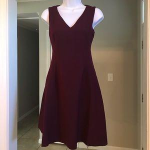 Banana Republic Burgundy Dress Petite Size 0